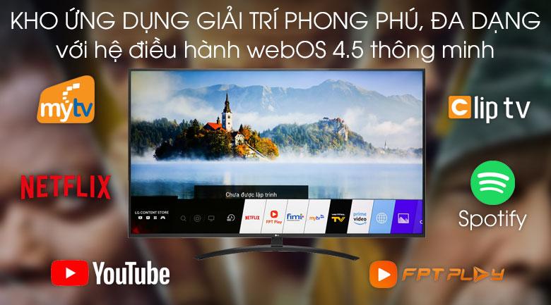 Smart Tivi LG 4K 55 inch 55UM7400PTA - WebOS
