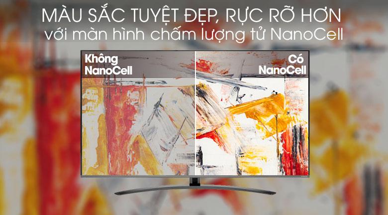 Smart Tivi NanoCell LG 4K 49 inch 49SM8100PTA - Màn hình chấm lượng tử NanoCell