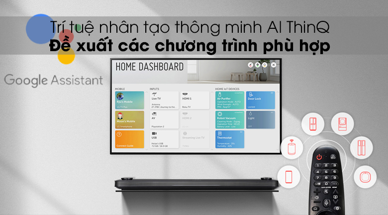 AI ThinQ - Smart Tivi LG 4K 49 inch 49SM8100PTA