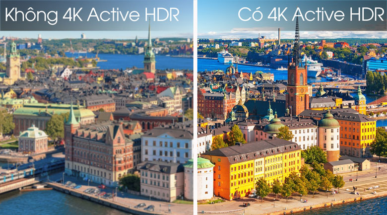 Công nghệ 4K Active HDR - Smart Tivi LG 4K 49 inch 49SM8100PTA