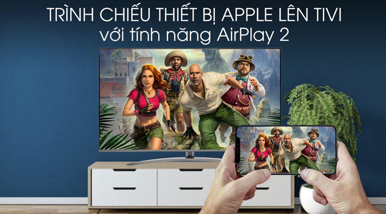 Smart Tivi LG 4K 49 inch 49SM8100PTA - AirPlay 2