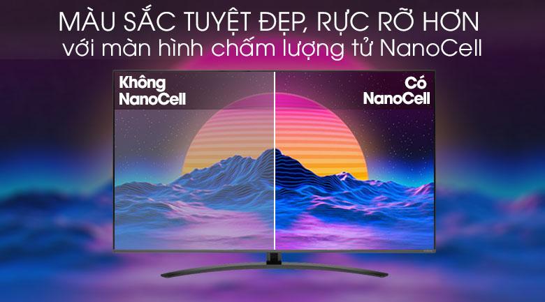 Smart Tivi NanoCell LG 4K 55 inch 55SM8100PTA - Màn hình chấm lượng tử NanoCell