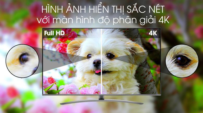 Smart Tivi LG 4K 55 inch 55SM8100PTA - Độ phân giải