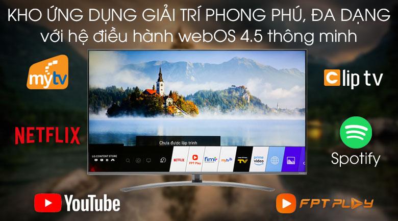 Smart Tivi LG 4K 55 inch 55SM8100PTA - Hệ điều hành