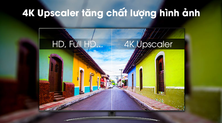 Smart Tivi LG 4K 55 inch 55SM8100PTA - 4K Upscaler