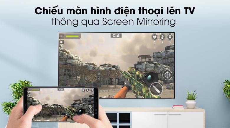 Chiếu màn hình điện thoại lên TV - Smart Tivi LG 4K 65 inch 65SM8100PTA Mẫu 2019