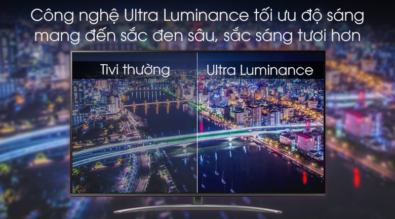Ultra Luminance - Smart Tivi LG 4K 65 inch 65SM8100PTA Mẫu 2019
