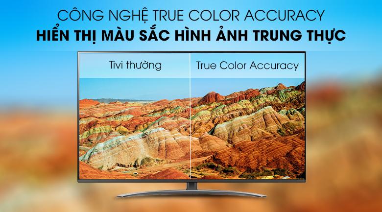 Công nghệ True Color Accuracy - Smart Tivi LG 4K 65 inch 65SM8100PTA Mẫu 2019