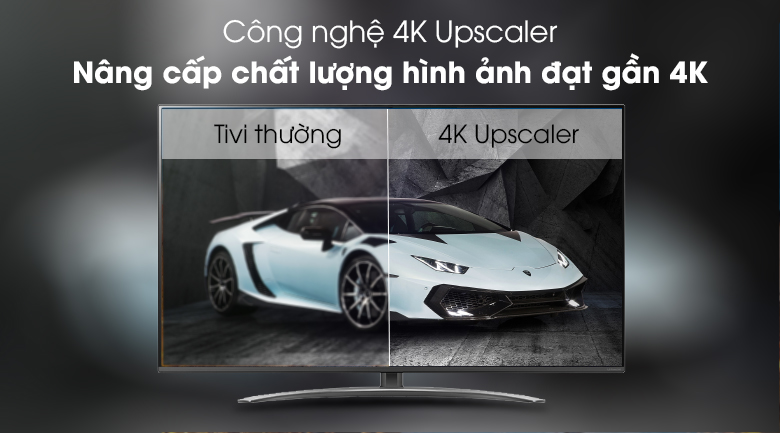 Up scaler - Smart Tivi LG 4K 65 inch 65SM8100PTA Mẫu 2019