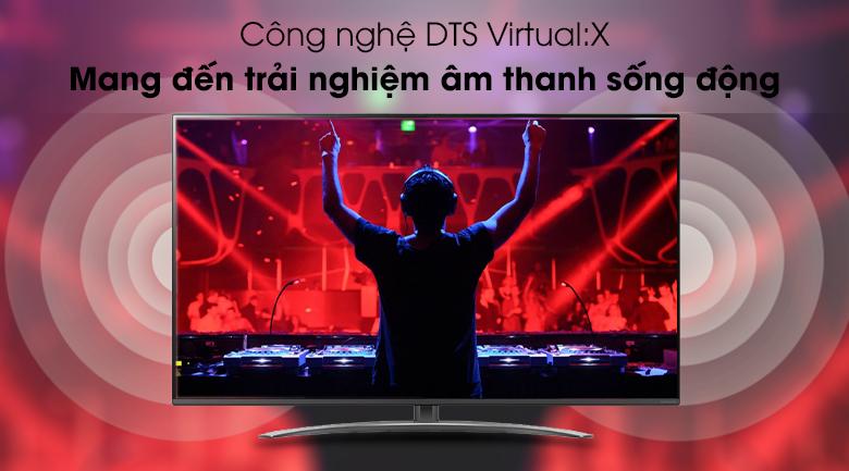 Công nghệ DTS Virtual:X - Smart Tivi LG 4K 65 inch 65SM8100PTA Mẫu 2019