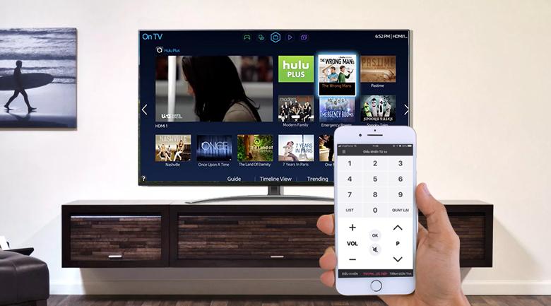 Remote thông minh có hỗ trợ tiếng Việt