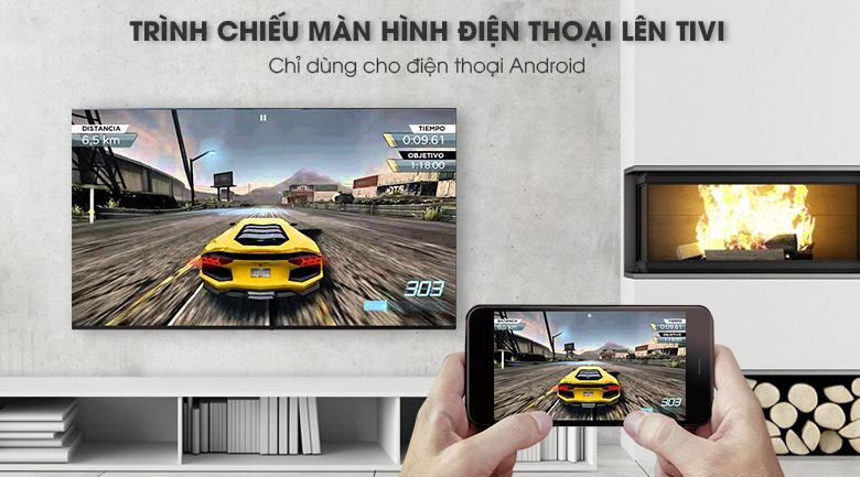 Chiếu màn hình điện thoại lên tivi bằng tính năng Screen Mirroring