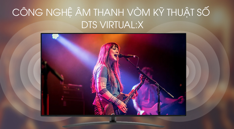 Smart Tivi LG 4K 55 inch 55SM8600PTA - công nghệ âm thanh DTS Virtual:X