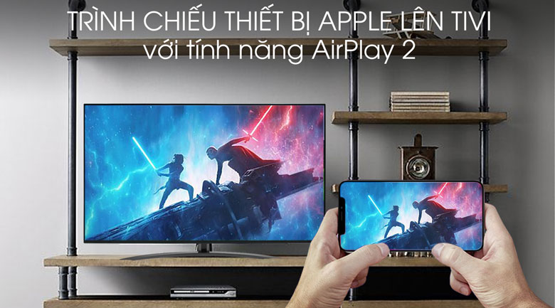Smart Tivi LG 4K 55 inch 55SM8600PTA - AirPlay 2