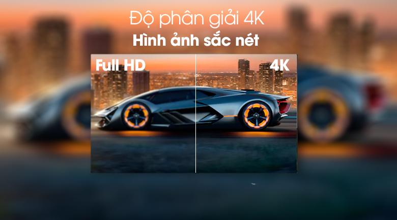 Hình ảnh siêu nét với độ phân giải 4K gấp 4 lần Full HD