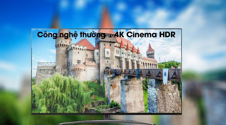 Công nghệ màn hình 4K Cinema HDR truyền tải trọn vẹn ý tưởng