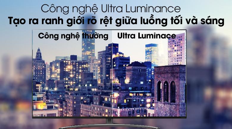 Công nghệ tăng cường ánh sáng Ultra Luminance