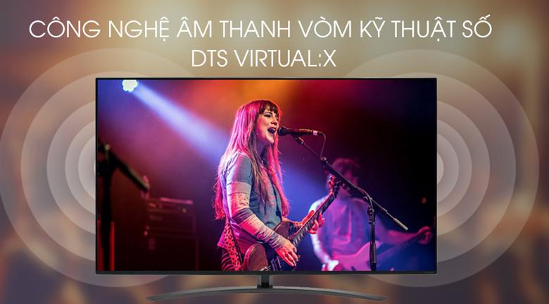 Smart Tivi LG 4K 65 inch 65SM8600PTA - Âm thanh vòm DTS Virtual:X