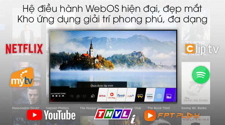 Smart Tivi LG 4K 65 inch 65SM8600PTA - Hệ điều hành