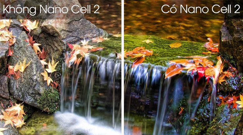 Công nghệ màn hình chấm lượng tử Nano Cell hiện đại - Smart Tivi LG 4K 65 inch 65SM8600PTA Mẫu 2019