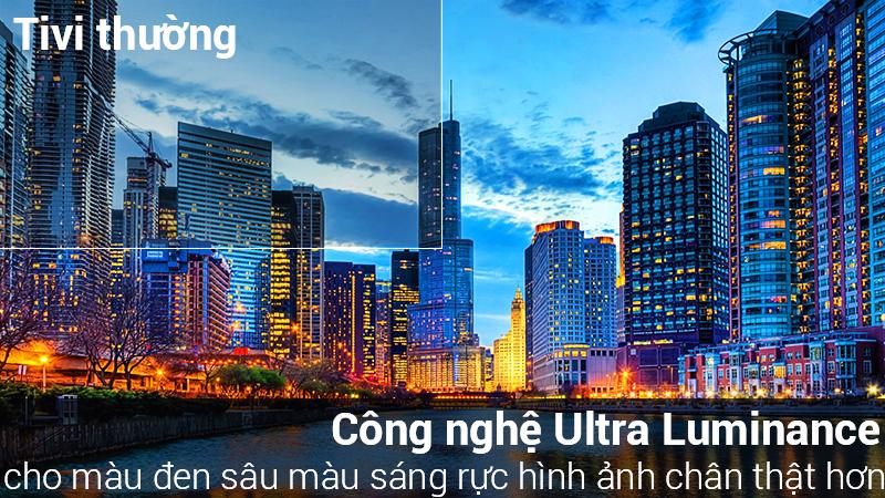 Smart Tivi LG 4K 65 inch 65SM8600PTA Mẫu 2019 có công nghệ ULTRA Luminance làm tăng cương độ sáng hơn