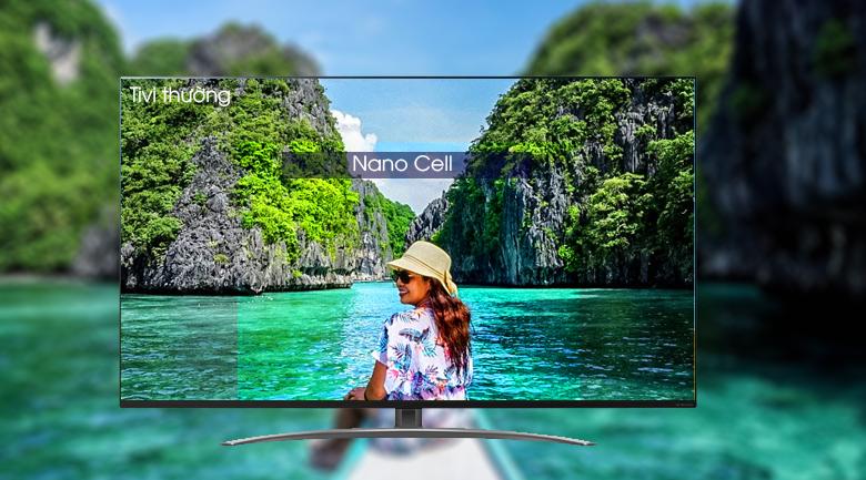 Công nghệ màn hình Nano Cell hiện đại - Smart Tivi LG 4K 65 inch 65SM8600PTA Mẫu 2019