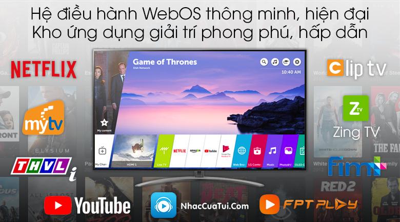 Smart Tivi LG 4K 55 inch 55SM9000PTA - hệ điều hành
