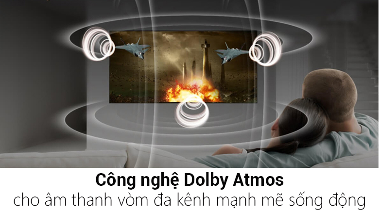 Công nghệ Dolby Atmos - Smart Tivi LG 4K 55 inch 55SM9000PTA