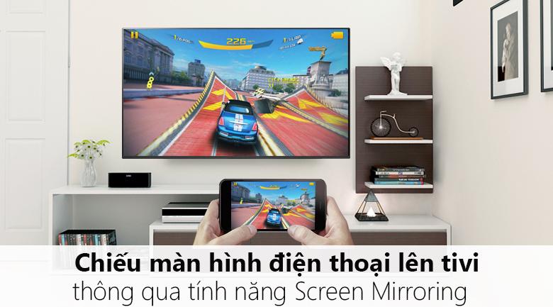 Chiếu màn hình điện thoại lên tivi - Smart Tivi LG 4K 55 inch 55SM9000PTA