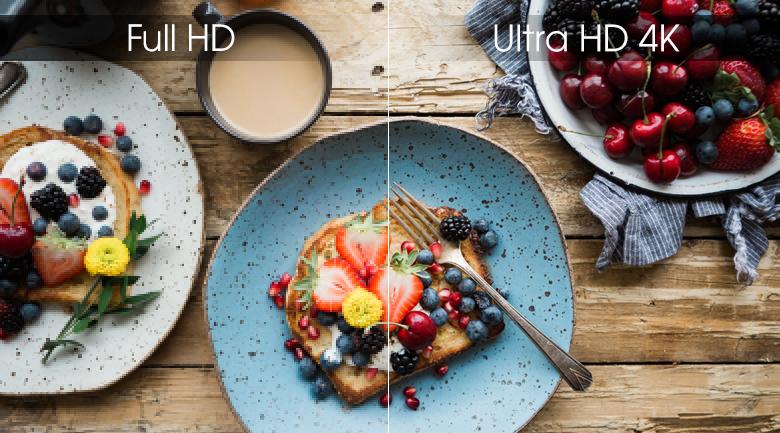 Độ phân giải Ultra HD 4K - Smart Tivi LG 4K 55 inch 55SM9000PTA