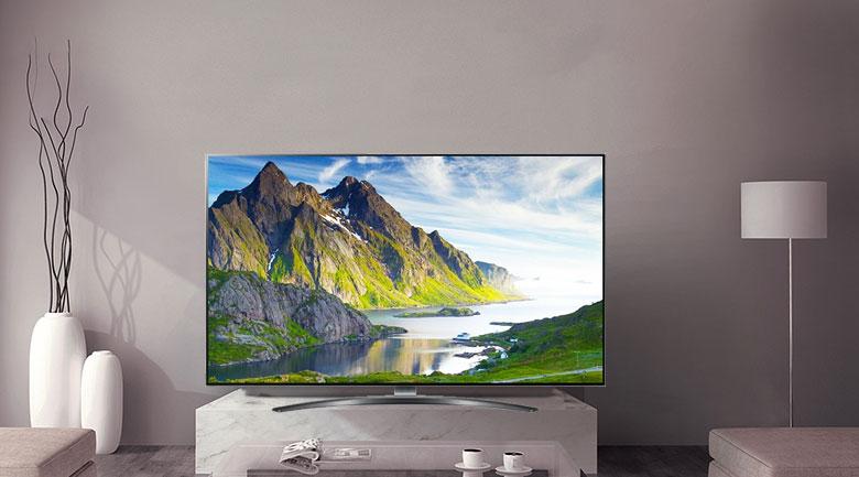 Smart Tivi LG 4K 75 inch 75SM9000PTA - Thiết kế sang trọng, hiện đại