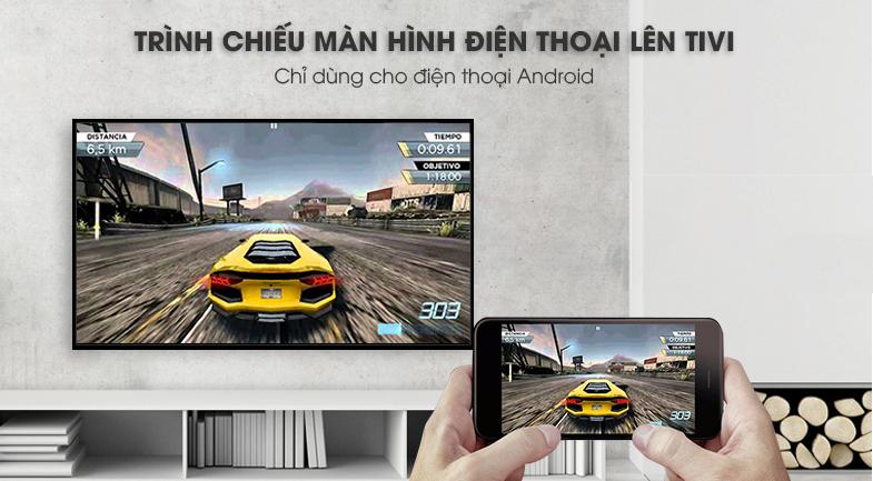 Smart Tivi LG 4K 75 inch 75SM9000PTA-Trình chiếu nội dung điện thoại lên tivi với Screen Mirroring