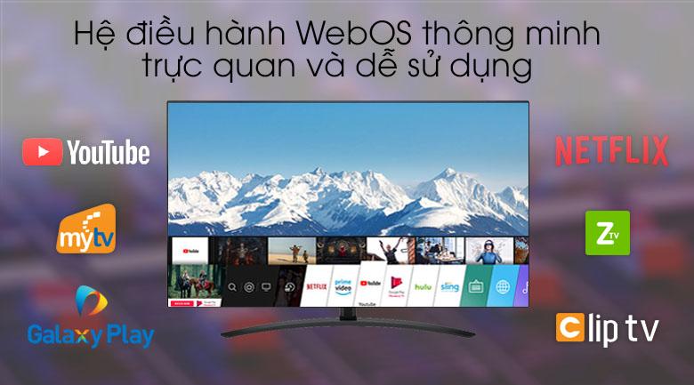 Tivi NanoCell LG 4K 65 inch 65SM9000PTA - Hệ điều hành WebOS 4.5