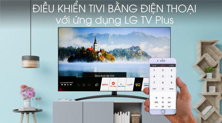 Tivi NanoCell LG 4K 65 inch 65SM9000PTA - Ứng dụng LG TV Plus