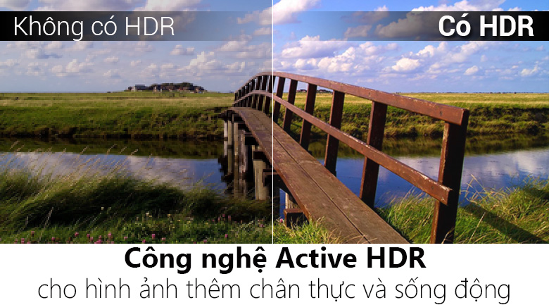 Công nghệ 4K Active HDR - Smart Tivi LG 4K 65 inch 65SM9000PTA