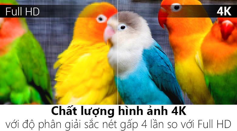 Độ phân giải Ultra HD 4K - Smart Tivi OLED LG 4K 55 inch 55B9PTA