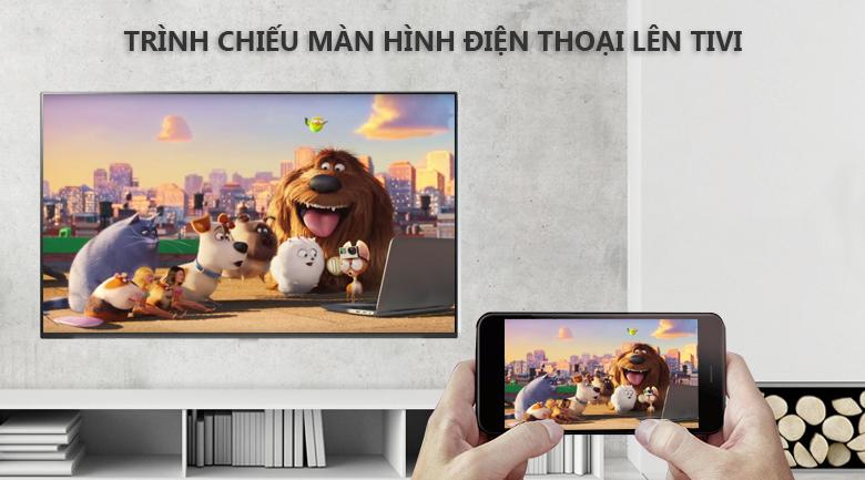 Chiếu màn hình Screen Mirroring - Smart Tivi OLED LG 4K 55 inch 55B9PTA