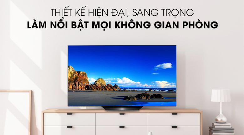 Smart Tivi OLED LG 4K 65 inch 65B9PTA có thiết kế hiện đại sang trọng