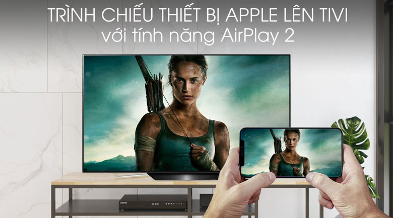 Smart Tivi OLED LG 4K 65 inch 65B9PTA - airplay 2