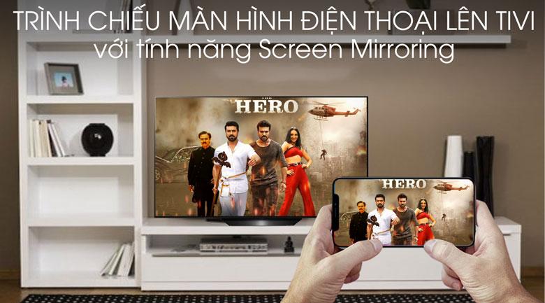 Smart Tivi OLED LG 4K 65 inch 65B9PTA - Screen Mirroring