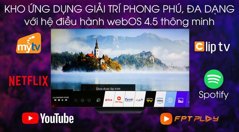 Smart Tivi OLED LG 4K 65 inch 65B9PTA - hệ điều hành