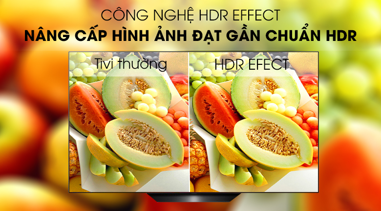 Công nghệ HDR EFFECT- Smart Tivi OLED LG 4K 65 inch 65B9PTA