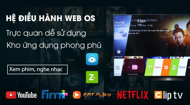 Smart Tivi OLED LG 4K 65 inch 65B9PTA - Hệ điều hành WebOS 4.5 mới, hiện đại, dễ dàng sử dụng