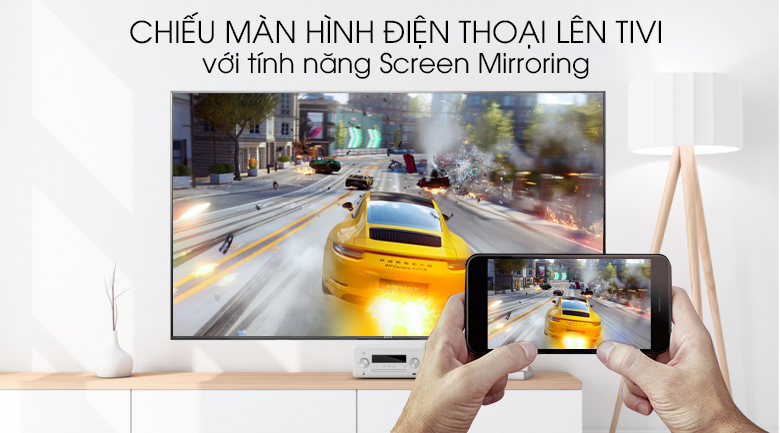 Screen Mirroring - Android Tivi Sony 4K 85 inch KD-85X9500G Mẫu 2019