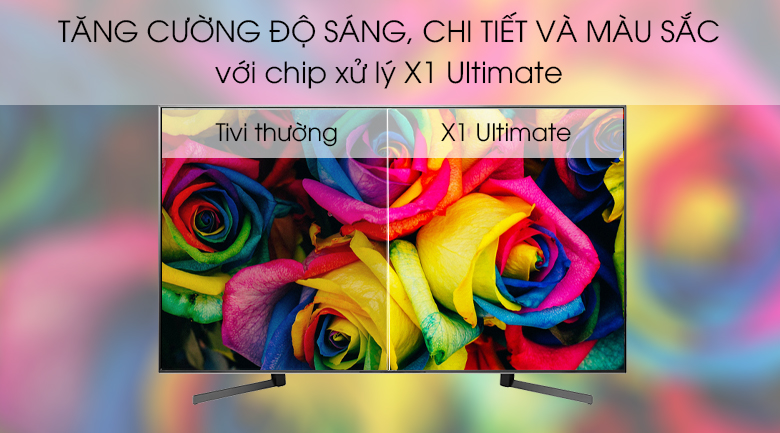 Chip X1 Ultimate - Android Tivi Sony 4K 85 inch KD-85X9500G