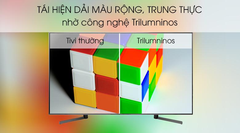 Android Tivi Sony 4K 85 inch KD-85X9500G công nghệ tạo màu Triluminos