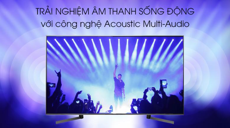 Android Tivi Sony 4K 85 inch KD-85X9500G có công nghệ Acoustic Multi-Audio