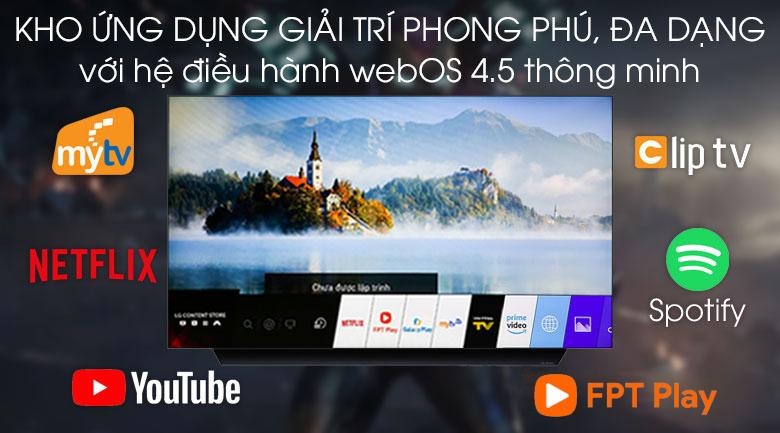 Hệ điều hành-Smart Tivi OLED LG 4K 55 inch 55C9PTA