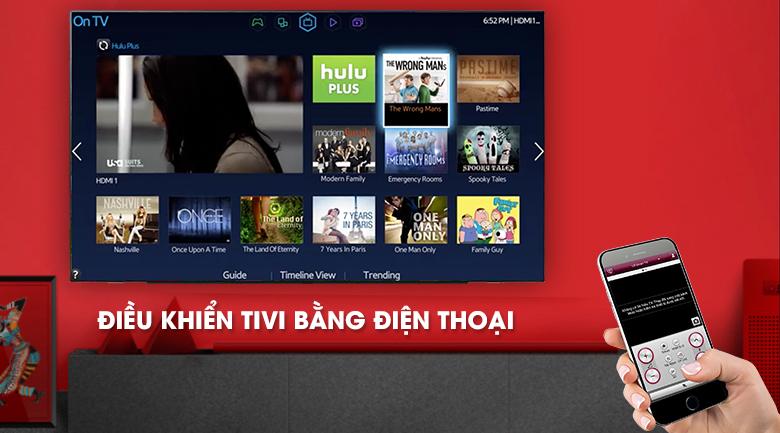 Điều khiển tivi bằng điện thoại thông qua ứng dụng LG TV Plus - Smart Tivi OLED LG 4K 55 inch 55C9PTA