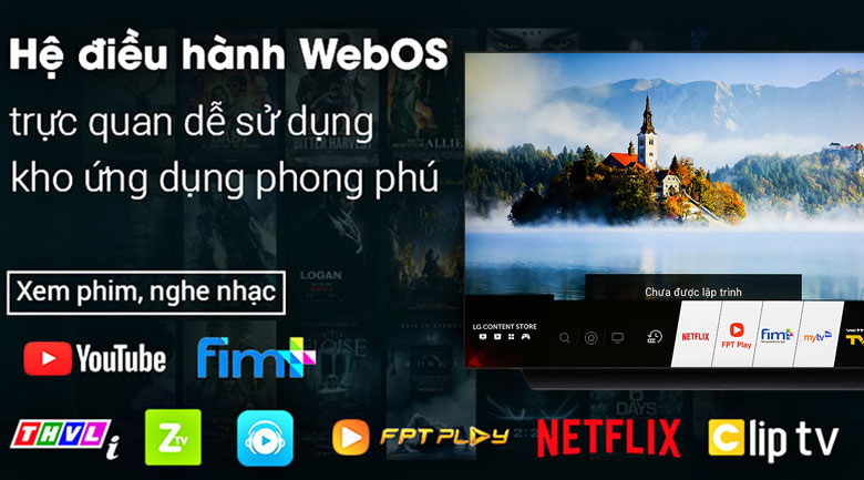 Smart Tivi OLED LG 4K 55 inch 55C9PTA - hệ điều hành